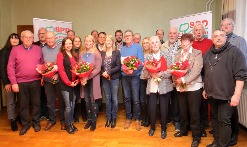 Aufbruchstimmung in der Hasberger SPD – Katja Mittelberg-Hinxlage zur neuen Vorsitzenden gewählt