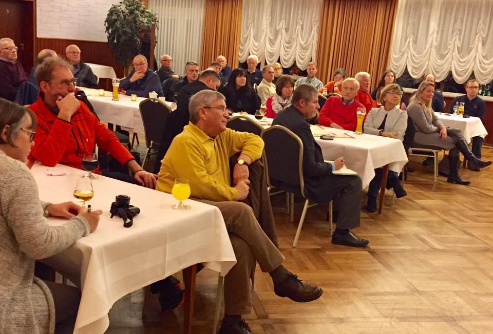 Politischer Abend in Hasbergen mit MdEP Tiemo Wölken