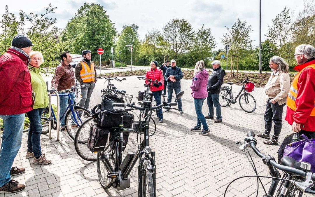 Radtour beim traditionellen 1. Mai der SPD Hasbergen