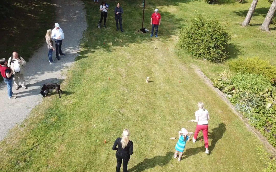 Wikingerschach und Boule zum 1. Mai