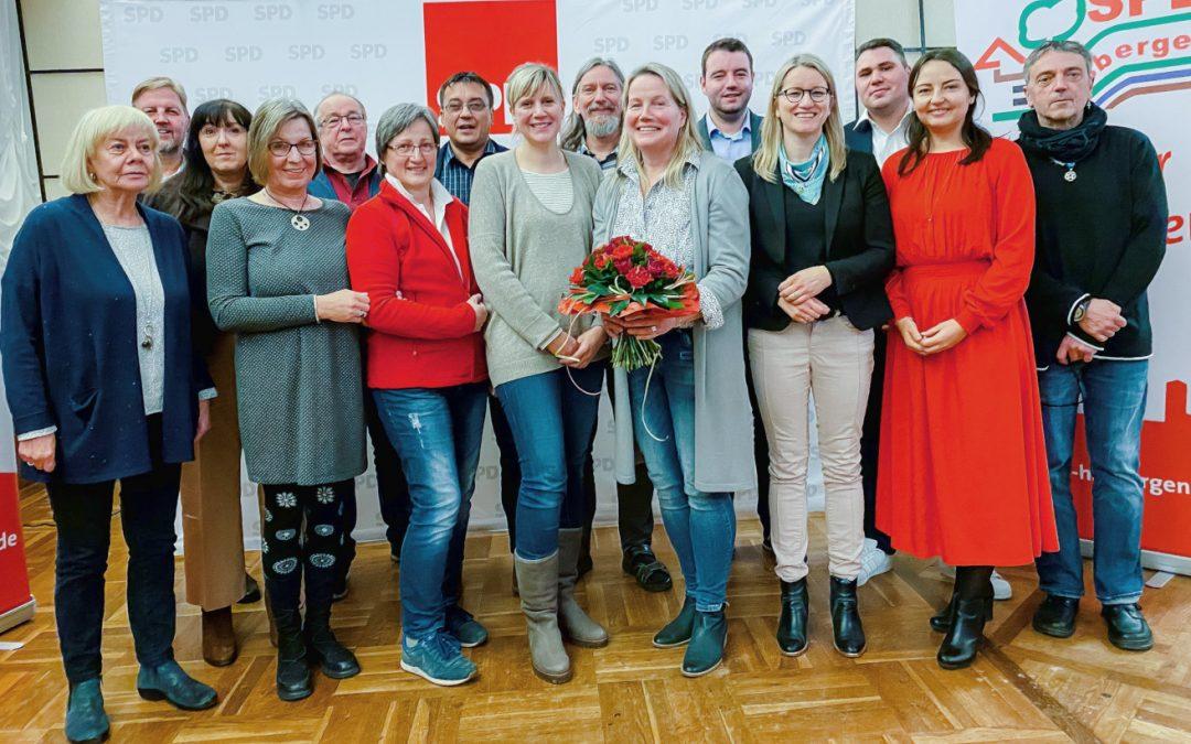 Katja Mittelberg-Hinxlage bleibt SPD-Vorsitzende