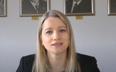 """Kathrin Wahlmann bei """"Hallo Hasbergen"""" vom 3. April 2020"""
