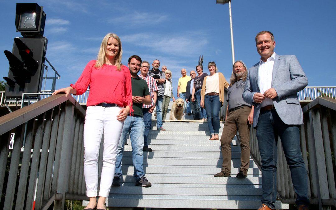"""SPD: """"Hasberger Bahnhof muss endlich barrierefrei werden!"""" – Landtagsabgeordneter Guido Pott sagt Unterstützung zu"""