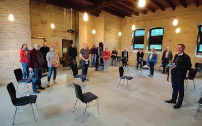SPD Hasbergen besucht neue Dauerausstellung im Augustaschacht