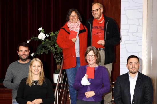 SPD begrüßt drei Neumitglieder
