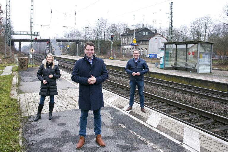 SPD: Bahn und LNVG sollen Wort halten – Umbau des Hasberger Bahnhofes noch 2021 starten! Schäfer: Hasberger Bahnhof muss endlich barrierefrei werden