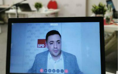 SPD nominiert Manuel Gava online zum Bundestagskandidaten
