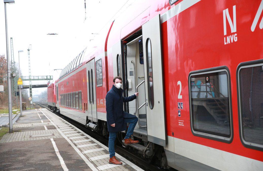 Adrian Schäfer: Barrierefreier Umbau des Hasberger Bahnhofs muss zügig vorangetrieben werden