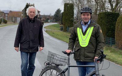 SPD macht sich für die erste Fahrradstraße in Hasbergen stark!