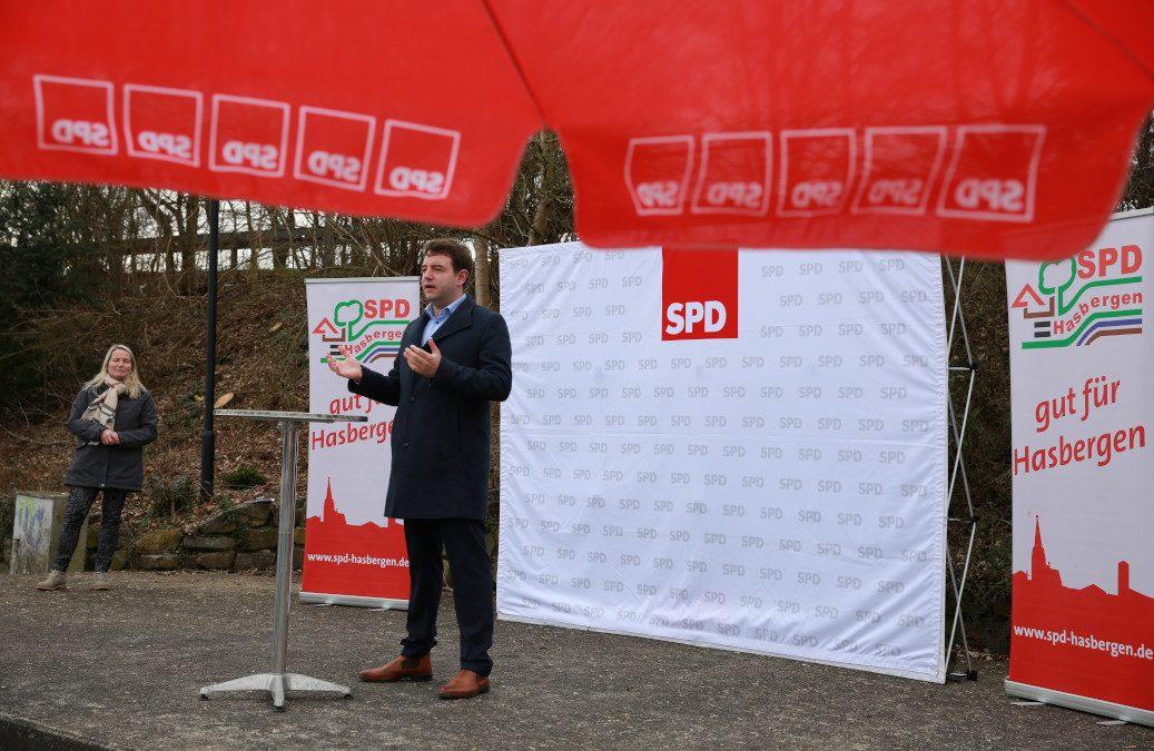 100 Prozent für SPD-Bürgermeisterkandidat Adrian Schäfer