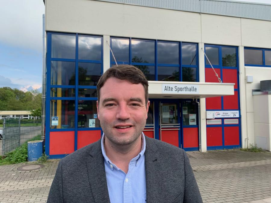 Bürgermeisterkandidat Adrian Schäfer und SPD fordern Öffnung der Hasberger Turnhallen für kontaktlose Sportarten