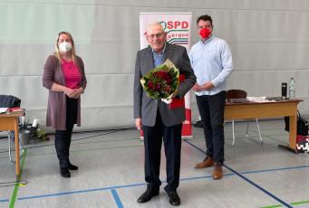 SPD ehrt Friedhelm Röwer für 60 Jahre Mitgliedschaft