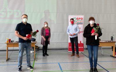 SPD Hasbergen begrüßt neue Mitglieder Tröger und Ruschke