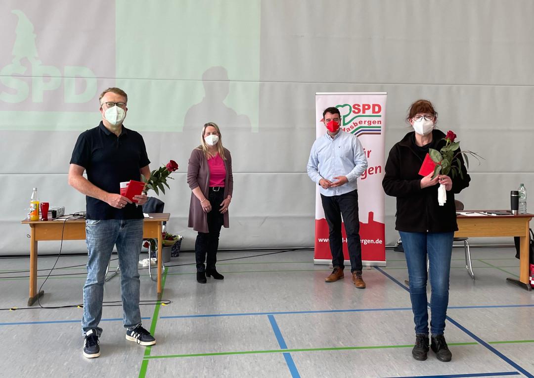 v. l. n. r.: Peter Tröger, Katja Mittelberg-Hinxlage, Adrian Schäfer, Karin Ruschke