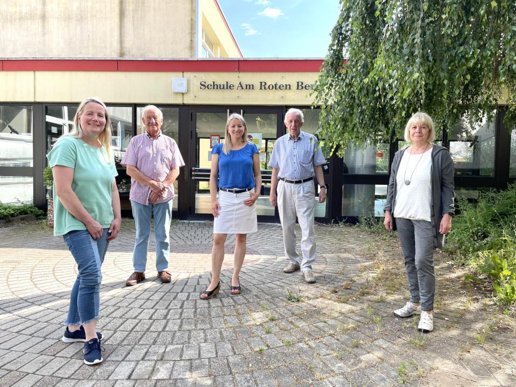V. l. n. r.: Katja Mittelberg-Hinxlage, Ubbo Weerts, Dr. Kathrin Wahlmann, Heiko Dölling, Christiane Knuth