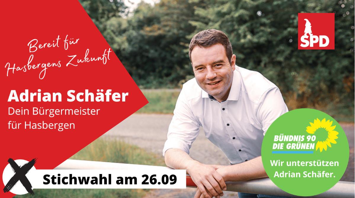 Adrian Schäfer – Ihr Bürgermeister für Hasbergen